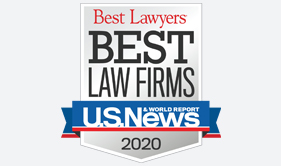 2020 Best Law Firms badge