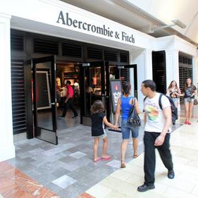 abercrombie store front